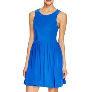 NWT Amanda Uprichard Emmie Dress Cobalt Size XS